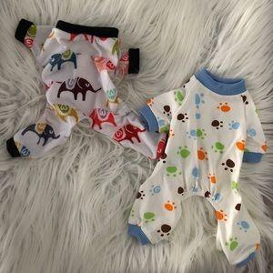 Dog Pajama Set